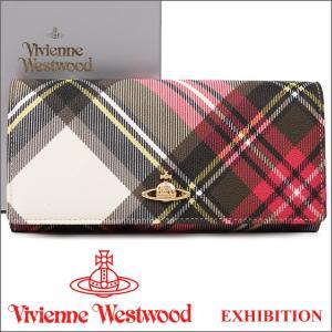 ヴィヴィアンウエストウッド Vivienne Westwood 財布 ヴィヴィアン 長財布 チェック 2800V EXHIBITION 17SS
