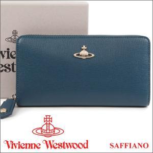 ヴィヴィアンウエストウッド Vivienne Westwood 財布 ヴィヴィアン 長財布 ライトブルー 5140V SAFFIANO BLUE 17AW iget