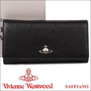 ヴィヴィアンウエストウッド 財布 ヴィヴィアン Vivienne Westwood 長財布 レディース メンズ ブラック 1032V SAFFIANO BLACK 17AW iget