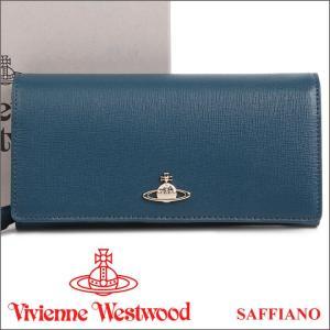 ヴィヴィアンウエストウッド Vivienne Westwood 財布 ヴィヴィアン 長財布 ブルー 1032V SAFFIANO BLUE 17AW iget
