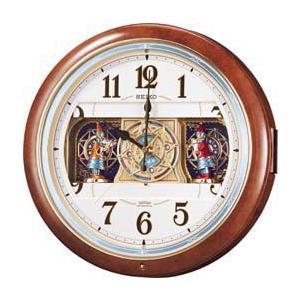 からくり時計 掛け時計 電波時計 クロック メロディ RE559H セイコー SEIKO お取り寄せ iget