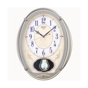 からくり時計 掛け時計 電波時計 クロック メロディ  AM222H セイコー SEIKO お取り寄せ iget