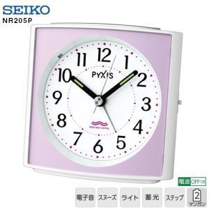NR205P セイコークロック 電子音 電波時計 目覚まし時計 【お取り寄せ】|iget