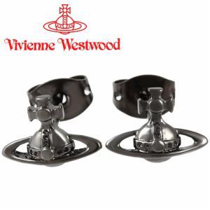 ヴィヴィアンウエストウッド Vivienne Westwood ピアス ヴィヴィアン ローレライスタッドピアス ガンメタル iget