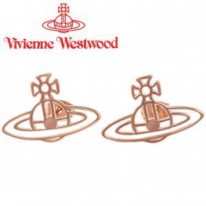 ヴィヴィアンウエストウッド Vivienne Westwood ピアス ヴィヴィアン シンラインフラットオーブピアス ピンクゴールド iget