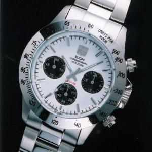 エルジン時計 ELGIN エルジン腕時計 FK1259S-W ホワイト文字盤 200M防水 ステンベルト iget