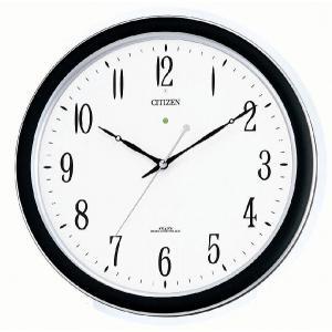 シチズン[CITIZEN]リズム時計 電波クロック掛け時計 ネムリーナM691 4MY691-019|iget