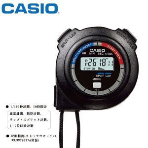 タイマー ストップウォッチ カシオ HS-3C-8AJH CASIO ストップウオッチ ブラック 【お取り寄せ】