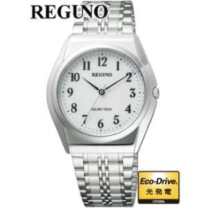 RS25-0043C  30%OFF 国内モデル  CITIZEN REGUNO シチズン レグノ  エコドライブ搭載のスタンダードシリーズ|iget