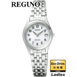 RS26-0051A  30%OFF 国内モデル  CITIZEN REGUNO シチズン レグノ  エコドライブ搭載のスタンダードシリーズ  女性用|iget