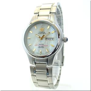 エルジン 腕時計 ELGIN FK1251TI-BR 100M防水/チタンソーラー/マルチファンクション/シェル文字盤 iget