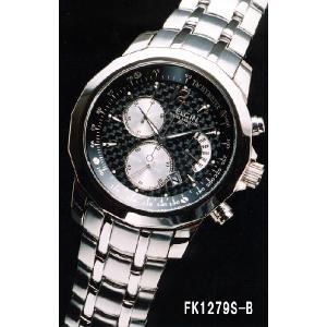 エルジン 腕時計 ELGIN FK1279S-B センタークロノグラフ/カレンダー/レトログラード iget
