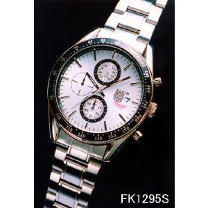 エルジン 腕時計 ELGIN FK1295S  1/10クロノグラフ/カレンダー/200M防水 iget