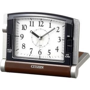 クオーツ 目覚まし時計 トラベル クロック ギフト めざまし時計 トラベラー アブロード963 4GE963-006 シチズン CITIZEN お取り寄せ|iget