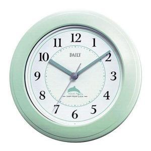 クオーツ 掛け時計 置き時計 防滴 防塵 キッチン サニタリー アクアパーク [4KG671DA05] グリーン シチズン[CITIZEN]  お取り寄せ|iget