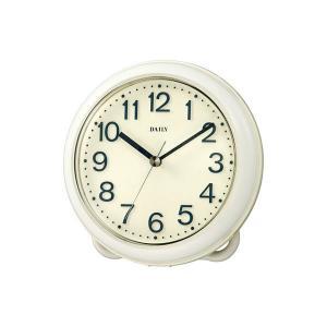 クオーツ 掛け時計 置き時計 強化防滴 強化防塵 キッチン バスルーム  アクアマジック [4KG710DA03] シチズン[CITIZEN]|iget