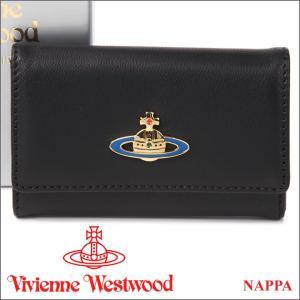 ヴィヴィアンウエストウッド キーケース Vivienne Westwood ヴィヴィアン 6連キーケース レディース メンズ ブラック 720V NAPPA BLACK iget