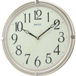 掛け時計 クロック スタンダード クオーツ 自然夜光 掛時計 デイリーMY23 8MGA23DA18 デイリー DAILY お取り寄せ