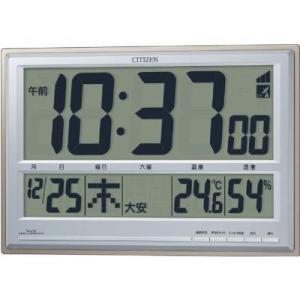電波時計 置き時計 目覚まし時計 クロック カレンダー 温度...