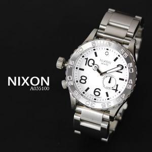 ニクソン 時計 nixon 時計 NIXON 腕時計 A035100 A035-100 THE 42-20 ホワイト アナログ文字盤 iget