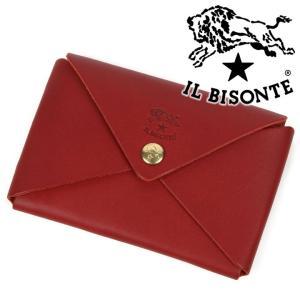 イルビゾンテ IL BISONTE カードケース 名刺入れ カード入れ C0854 245|iget