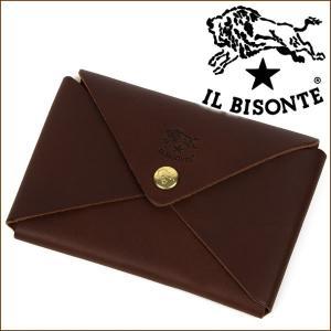 イルビゾンテ IL BISONTE カードケース 名刺入れ カード入れ C0854 455|iget