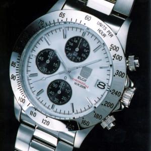 エルジン時計 ELGIN エルジン腕時計  FK1184S-W クロノグラフ カレンダー iget