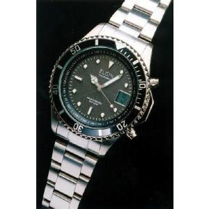 エルジン腕時計 ELGIN ソーラー電波 FK1363S-BP ステンレス 100M防水 iget