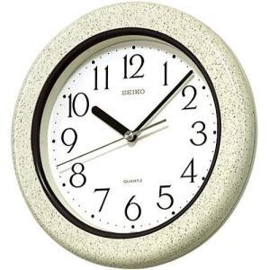 KS441H セイコークロック 掛け時計 クオーツ キッチン バス 強化防湿・防塵型 お取り寄せ|iget