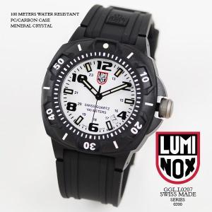 ルミノックス 時計 LUMINOX 腕時計 0207 ナイトビューシリーズセントリー ホワイト文字盤 iget
