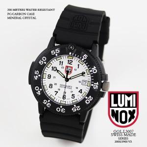 ルミノックス 時計 LUMINOX 腕時計 3007 ネイビーシールズ ダイブウォッチ オリジナルシリーズ1 ホワイト文字盤 iget