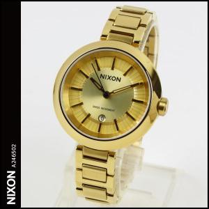 送料無料 ニクソン 時計 NIXON 腕時計 THE TESSA A246502 A246-502 テッサ オール ゴールド ALL GOLD アナログ文字盤 iget