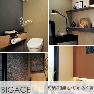 壁紙 クロス のり付き シンコール SINCOL BIGACE ビッグエース 和柄 和無地 じゅらく調 igogochi