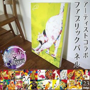 ファブリックパネル カラーズオリジナル アーティスト「Niji$uke -ニジスケ-」コラボファブリックボード Colors×Niji$uke|igogochi