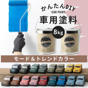 車塗料 ペンキ 水性塗料 Car Paint 8kg 全11色 igogochi