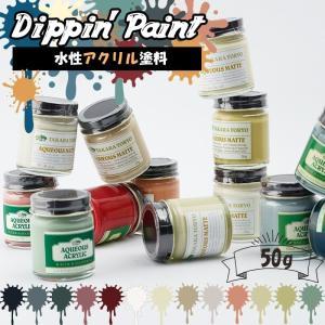 ペンキ 水性塗料 アクリル塗料 マットカラー 50g 全13色 igogochi