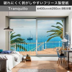 壁紙 輸入壁紙 クロス 不織布 フリース ドイツ製 Tranquillo 静かな午後 XXL4-050 海 景色|igogochi