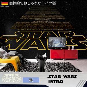 壁紙 おしゃれな輸入壁紙 クロス 紙 ドイツ製 8-487 Star Wars Intro スターウォーズ|igogochi