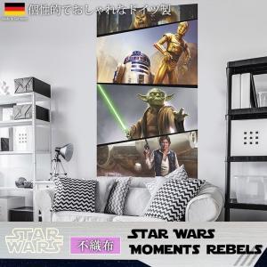 壁紙 おしゃれな輸入壁紙 クロス 不織布 フリース ドイツ製 VD-026 Star Wars Moments Rebels スターウォーズ|igogochi