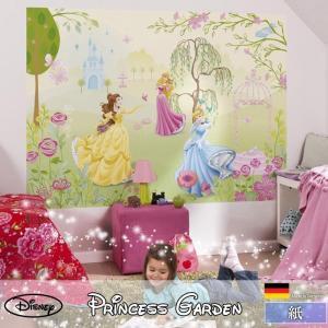 壁紙 おしゃれな輸入壁紙 クロス 紙 ドイツ製 1-417 Princess Garden ディズニー|igogochi