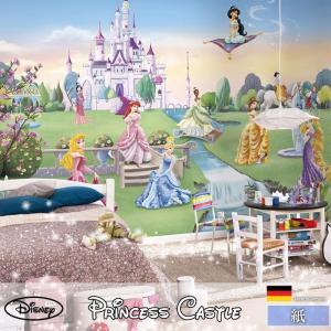 壁紙 おしゃれな輸入壁紙 クロス 紙 ドイツ製 8-414 Princess Castle ディズニー|igogochi