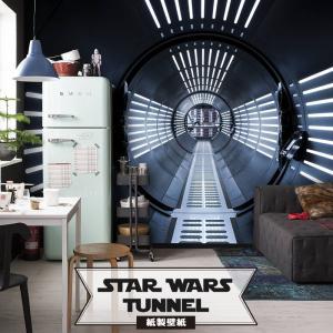 壁紙 おしゃれな輸入壁紙 クロス 紙 ドイツ製 STAR WARS Tunnel  8-455 スターウォーズ|igogochi