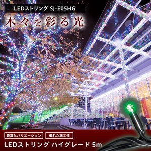 LEDイルミネーション LEDストリング ハイグレードタイプ 5m igogochi