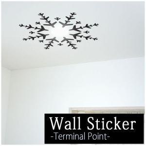 ウォールステッカー 天井に貼る シーリングシリーズ ターミナルポイント wd-106 Terminal Point 飛行機|igogochi