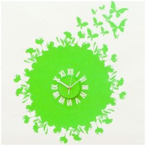ウォールステッカー 壁掛け時計 掛時計 おしゃれ ポップ 北欧 カフェ/121 Fly Away|igogochi