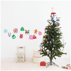 ウォールステッカー 壁デコ シール クリスマス 12枚入り/129 Stikkies Holidaicons2 壁紙 |igogochi
