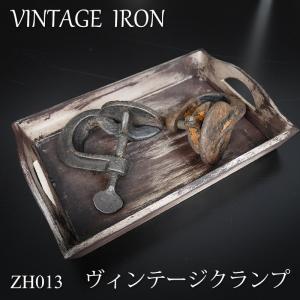 ヴィンテージ クランプ アンティーク工具 アイアン雑貨|igogochi
