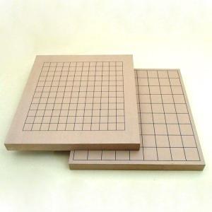 碁盤 新桂10号13路碁盤(裏面将棋盤)|igolabo