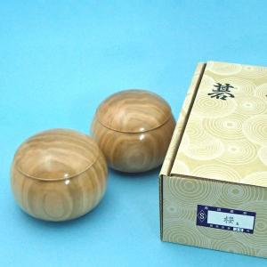 手作木製碁笥 桜 極上 特大36号