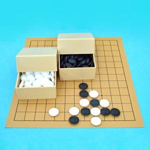 囲碁セット 塩ビ9・13路碁盤ミニセット|igolabo